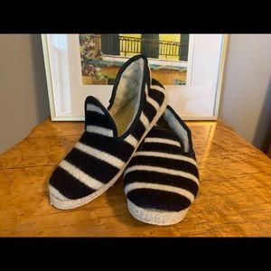JCrew wool slippers